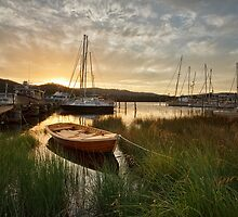 Wooden Boat Centre, Franklin, Tasmania #12 by Chris Cobern