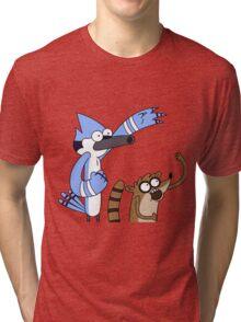 Mordecai & Rigby - Regular Show Tri-blend T-Shirt