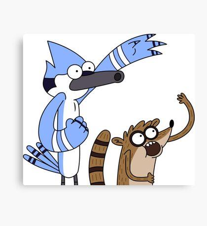 Mordecai & Rigby - Regular Show Canvas Print