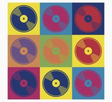 Pop Art Vinyl Records 2 by retrorebirth