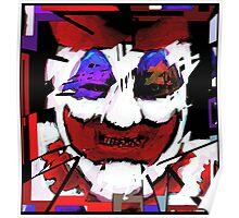 John Wayne Gacy Art Poster