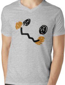 Mimikyu Face Mens V-Neck T-Shirt