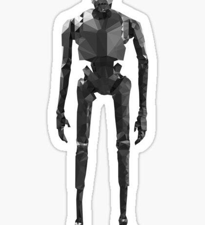 Star Wars K-2SO K2S0 Rogue One Low Poly Sticker