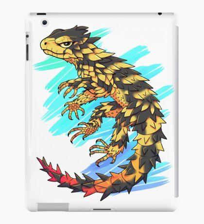 Smaug giganteus- Blue N green iPad Case/Skin