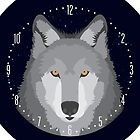 Wolf Head Design by samohtlion