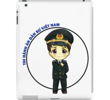 Chibi Primary level Enforcer of Vietnam iPad Case/Skin