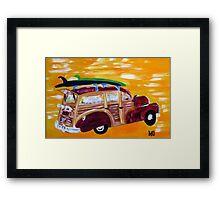 woodie wagon 1 Framed Print