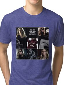 Laurel Lance/Black Canary aesthetic Tri-blend T-Shirt