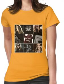 Laurel Lance/Black Canary aesthetic Womens Fitted T-Shirt