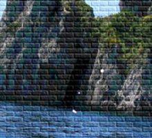Marina azul Sticker