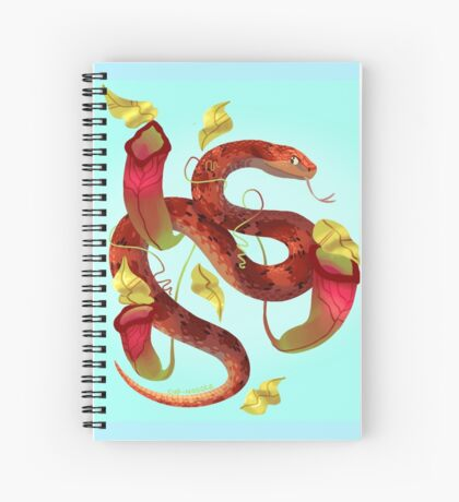 Corn snake painting Spiral Notebook