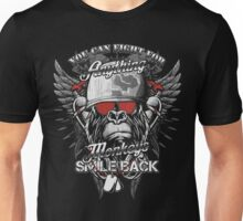 You Can Fight For Anything - Monkeys Smile Back Unisex T-Shirt