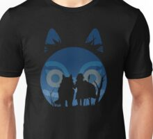 Princess Mononoke - The Wolf and Princess Unisex T-Shirt