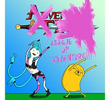 League of adventure : Jake and Jinx Poster Photographic Print