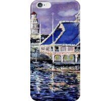 Pavillion Newport Beach 1988 iPhone Case/Skin
