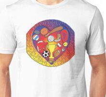 Love Sports World Jigsaw Unisex T-Shirt