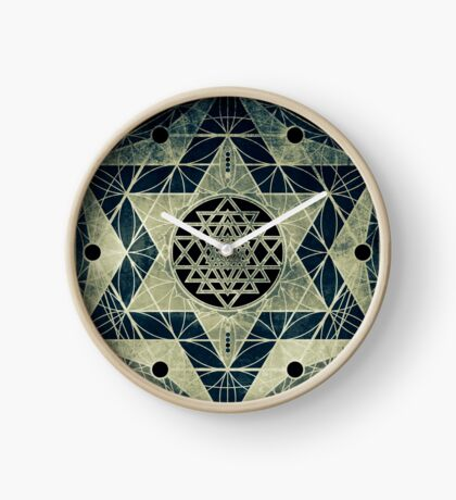 Sacred Geometry for your daily life Clock