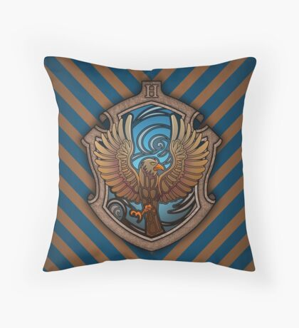 The Witty Eagle Throw Pillow