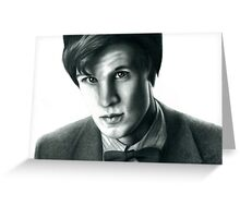 The Eleventh Doctor Greeting Card