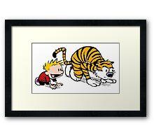 Calvin Hobbes Framed Print