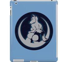 Moon Anthro wolf Starry Sky iPad Case/Skin