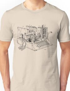 Patent - SIGABA Cryptography Machine Unisex T-Shirt