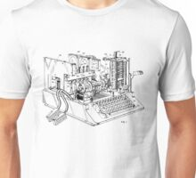 Patent - SIGABA Cryptography Machine Unisex T-Shirt