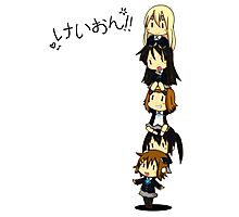 K-on Totem Pole Photographic Print