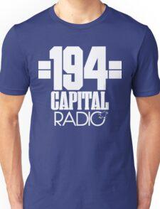 Capital Radio (1) - white print Unisex T-Shirt