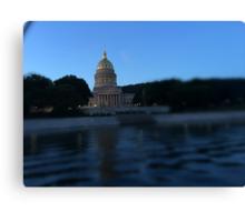 West Virginia State Capitol, June Evening Canvas Print