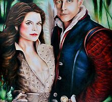 Snow White and Charming by weronikart