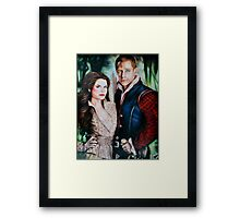 Snow White and Charming Framed Print