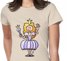 Pretty Princess from a fairy tale Womens Fitted T-Shirt