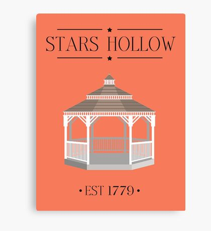 Gilmore Girls - Stars Hollow! Canvas Print