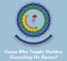 Guess Who Taught Sheldon Everything He Knows?  One Piece - Short Sleeve