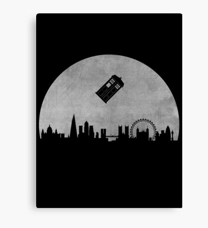 Doctor Who - London  Canvas Print