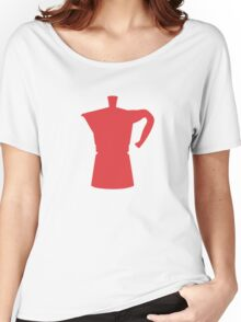 Red Moka Women's Relaxed Fit T-Shirt