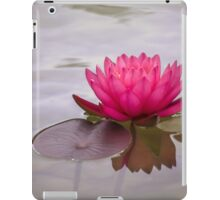 Serenity in pink iPad Case/Skin