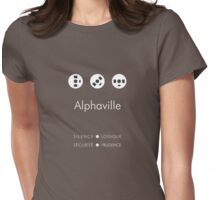 Alphaville alternative movie poster Womens Fitted T-Shirt