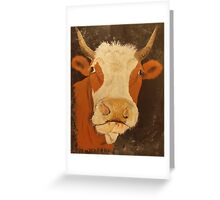 Holy Cow! Greeting Card
