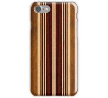 Nalu Lua Faux Koa Wood Hawaiian Surfboard iPhone Case/Skin