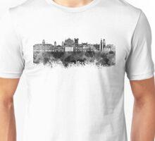 Trieste skyline in black watercolor Unisex T-Shirt