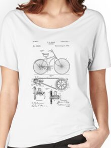 Patent - Bicycle Women's Relaxed Fit T-Shirt