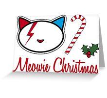 Christmas Meowie 2 Greeting Card
