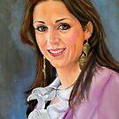 portrait of Katia Guerreiro by Hidemi Tada
