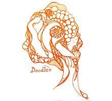 zen doodle Photographic Print