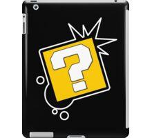 Q block iPad Case/Skin