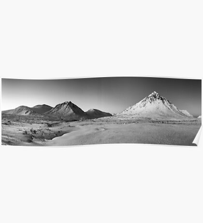 Buachaille Etive Mor Panorama Poster
