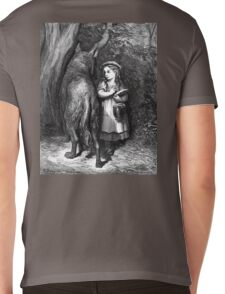 Fairy Tale, Little Red Riding Hood, Gustave Dore, Tales of Mother Goose Mens V-Neck T-Shirt