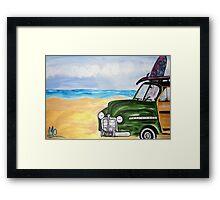 watch hill woodie wagon Framed Print